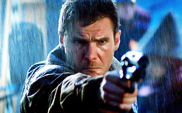 Blade Runner film shot