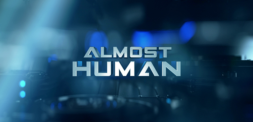 Almost Human title screen