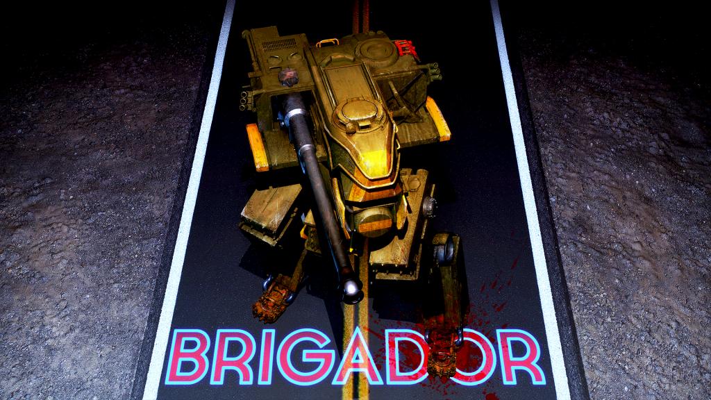 Brigador's new splash screen.