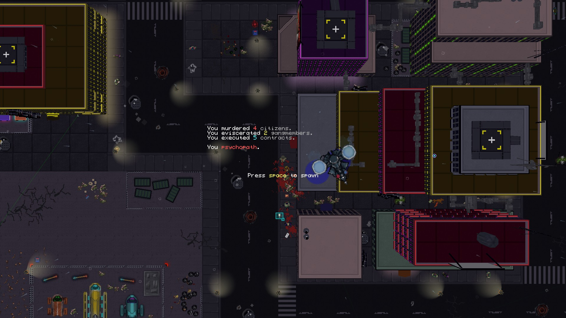 Artistry in Games 2014-12-07_00012 Metrocide First Impressions Review Reviews  top-down top single-player Shooter RPG retro Miami Metrocide metro isometric hotline miami Hotline Hitman hardcore ex down deus ex deus cyberpunk beast altered