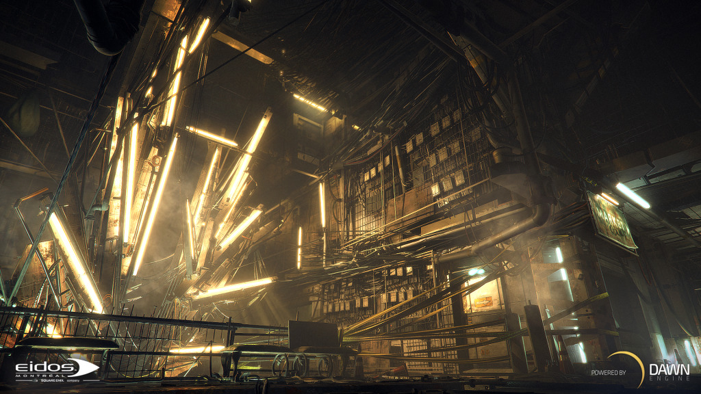 Deus Ex Dawn Engine screenshot