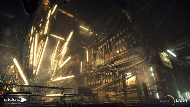 Dawn Engine Deus Ex screenshot