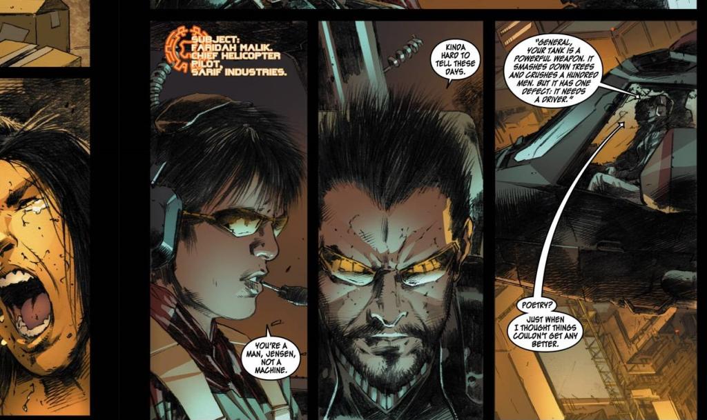 Deus Ex comic