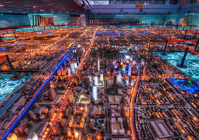 Trey Ratcliff cyberpunk city photo