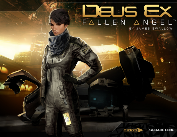 Deus Ex: Fallen Angel cover art