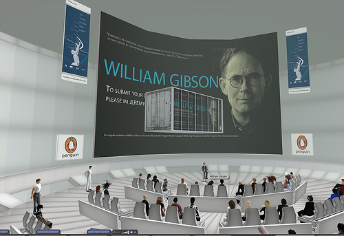 William Gibson in Second Life