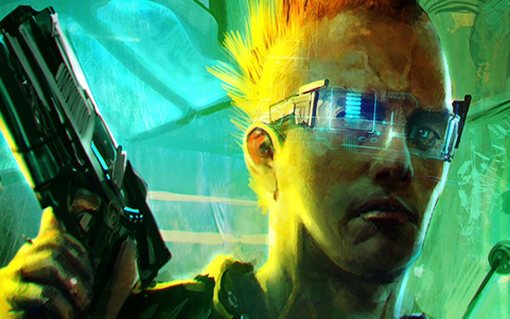 Cyberpunk 2077 guy