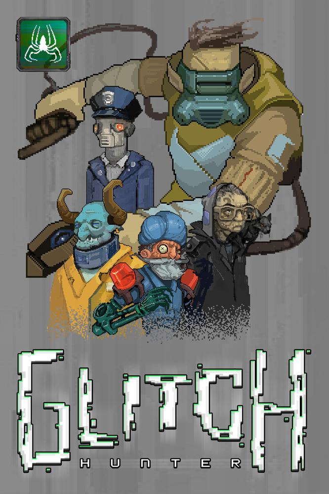 Glitch Hunter poster (666x1000)