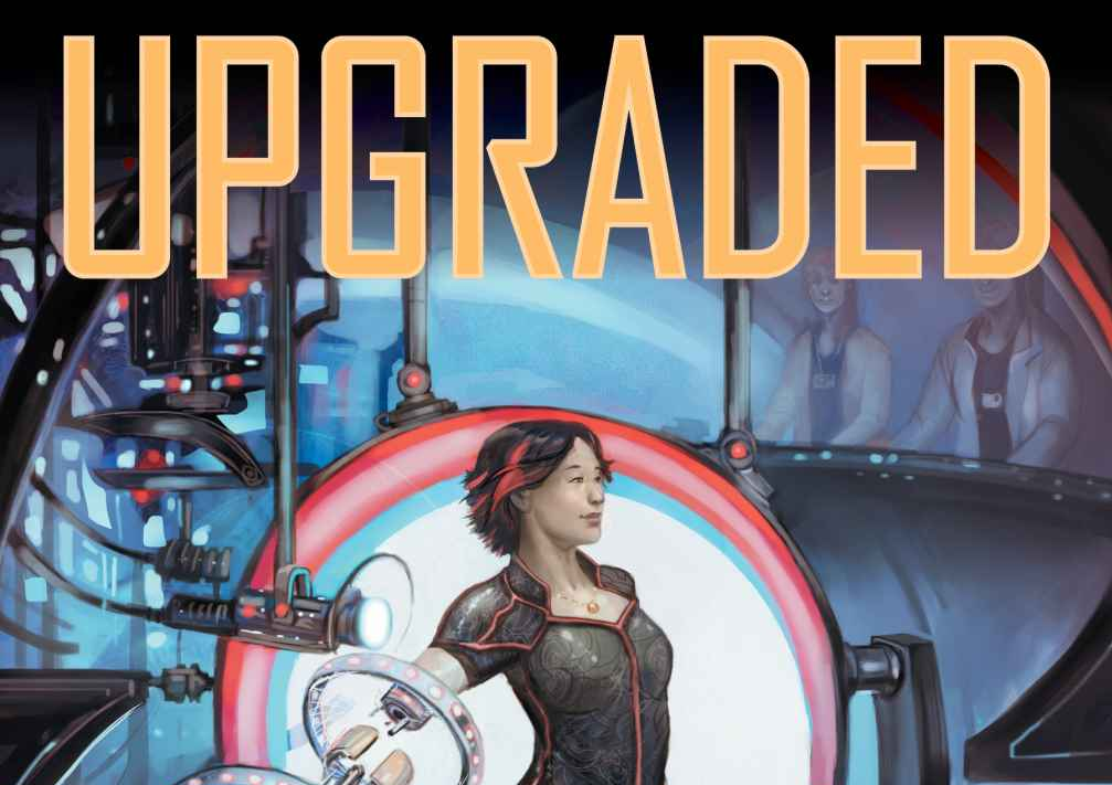 Upgraded: The Cyborg Anthology cover