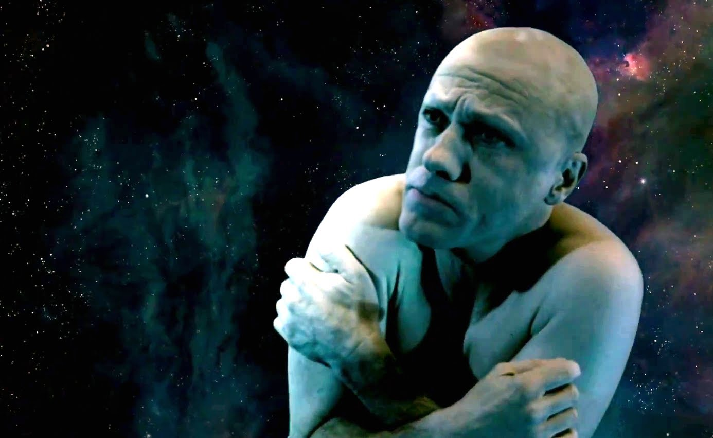 In The Zero Theorem, Qohen Leth (Christoph Waltz) is constantly waiting for a call that became the meaning of his life.