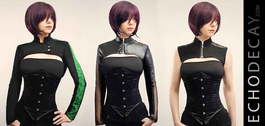 Meet EchoDecay: Cyberpunk Fashion Brand | Neon Dystopia