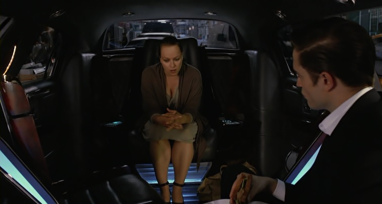 Samantha Morton as Vija Kinsky, in Cosmopolis