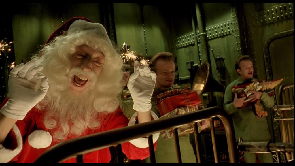 Cyberpunk City of the Lost Children Santa