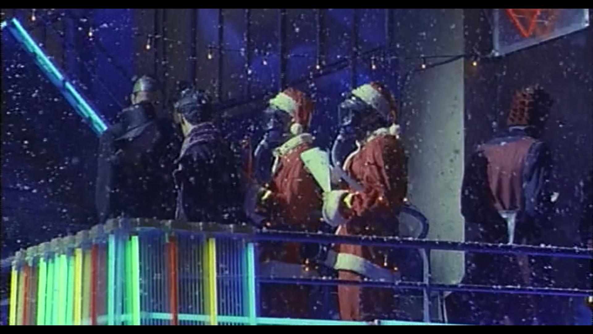 Cyberpunk Nirvana Santas