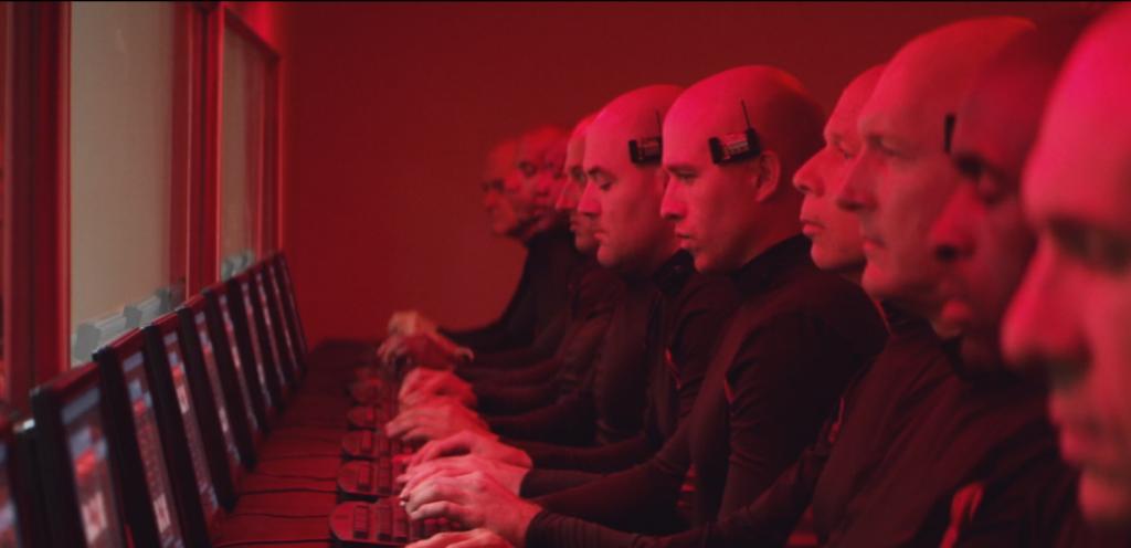 listening red room