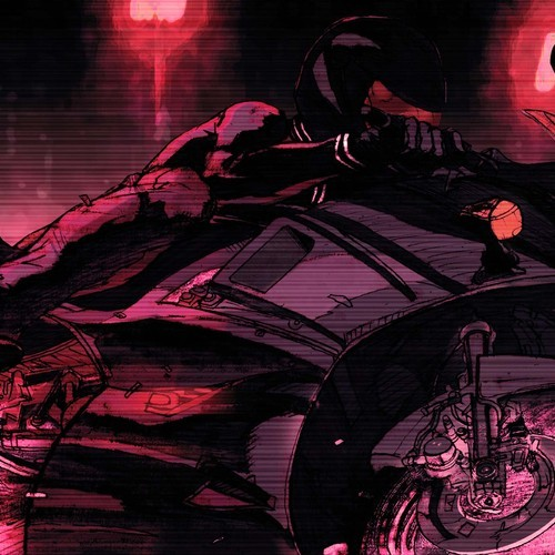night driving avenger motorcycle