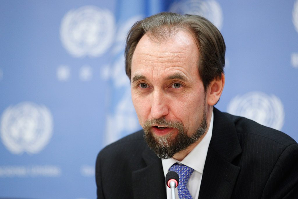 Prince Zeid Ra'ad Al Hussein, High Commissioner for Human Rights