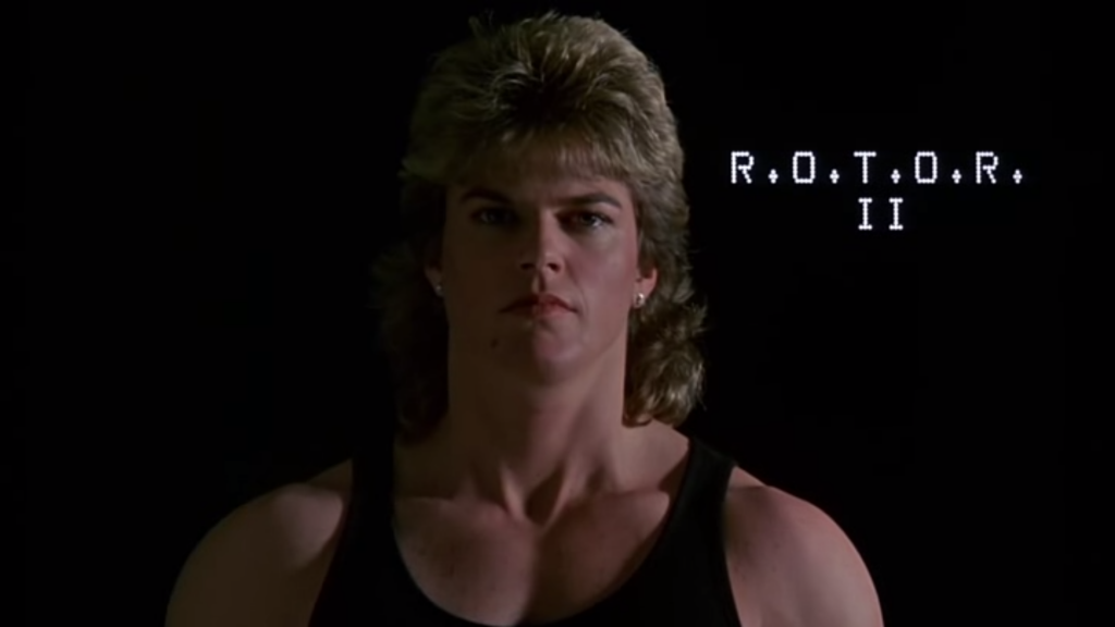 Steele as R.O.T.O.R. II