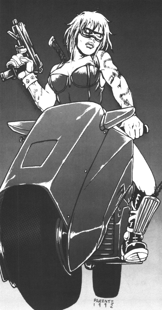 The Nomad Archtype from Cyberpunk 2020