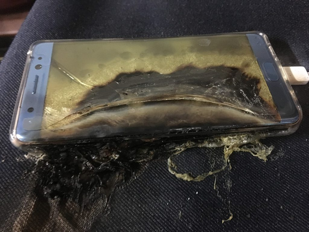 Exploding Samsung