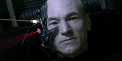 Locutus of Borg from The Best of Both Worlds