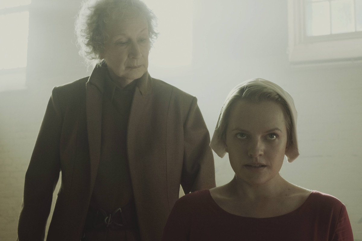 First impressions of the handmaid 39 s tale neon dystopia for The atwood