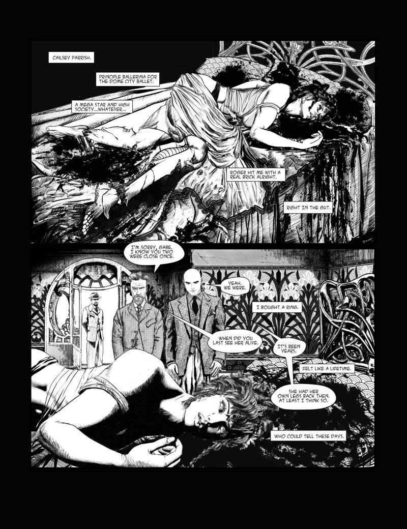 Cybernetic Punk - A Cyberpunk Noir Comic – Neon Dystopia