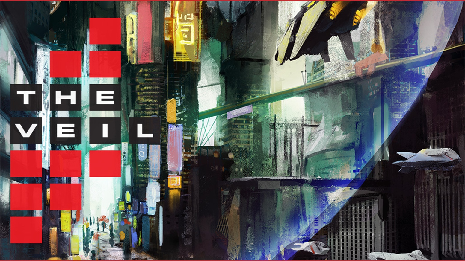 The Veil Cyberpunk Tabletop Game