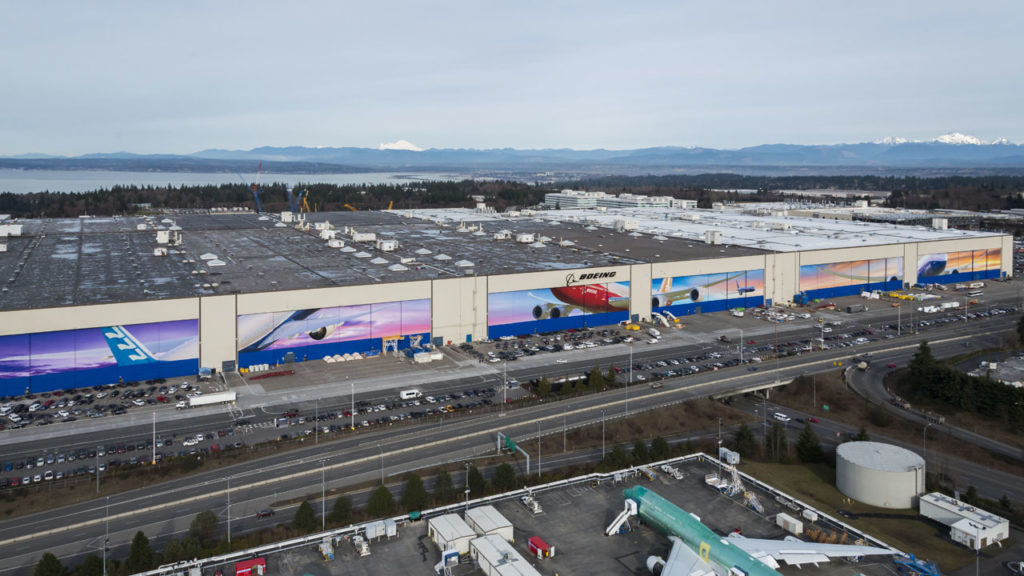 boeing everett factory washington largest building volume