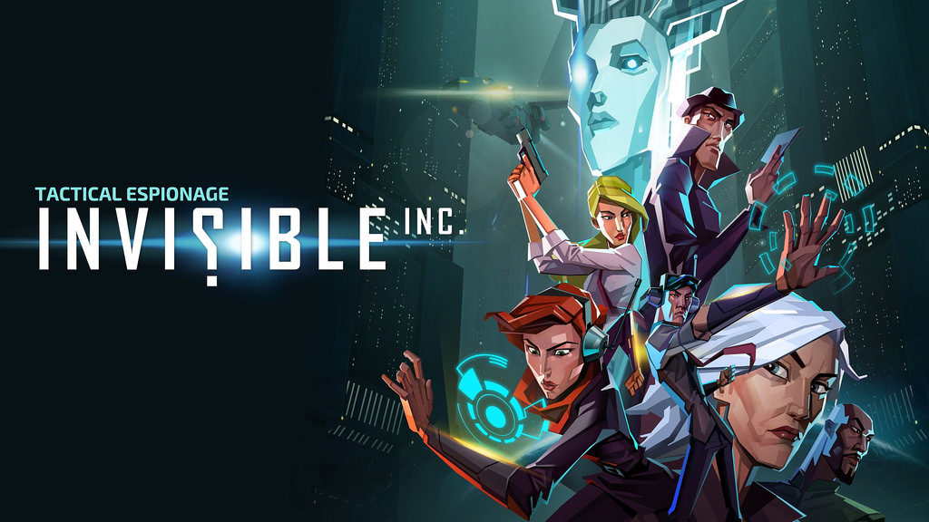 invisible inc title card promo