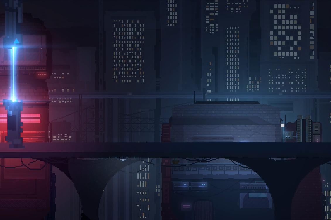 retroshifter cityscape