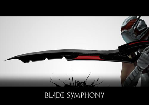 blade symphony cover promo art