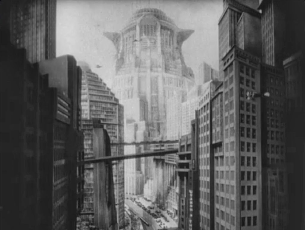 metropolis new tower of babel industrial
