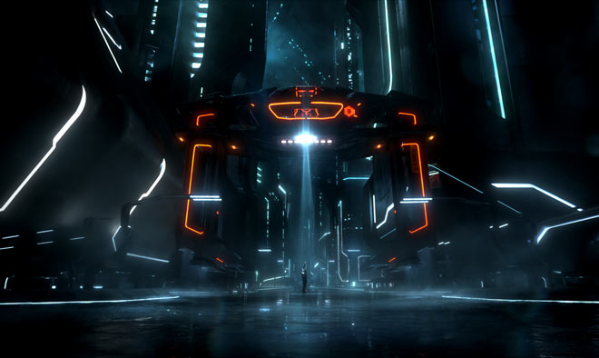 tron legacy city recognizer
