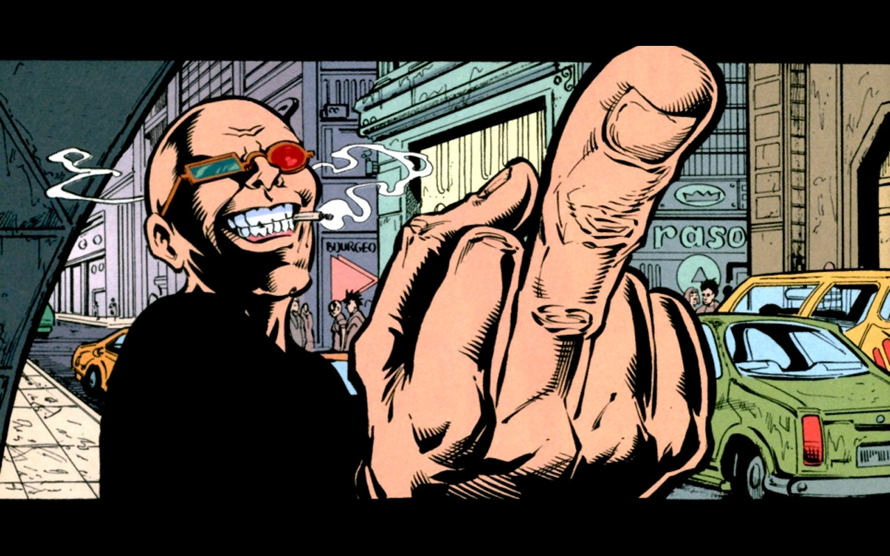 transmet spider jerusalem middle finger