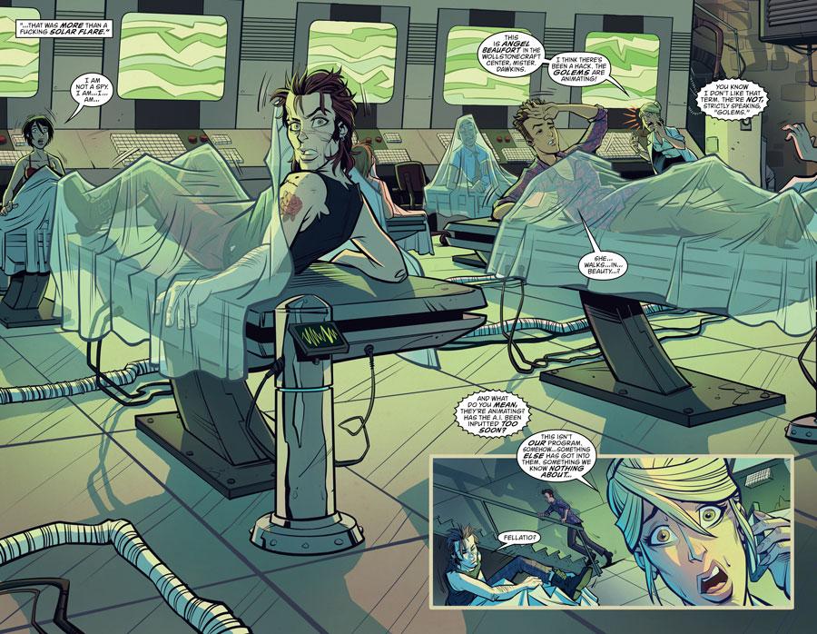 "New Romancer - History's ""greatest lovers"" come alive (DC Comics - Vertigo)"