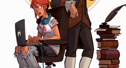 New Romancer - Issue 1 cover art (detail) (DC Comics - Vertigo)