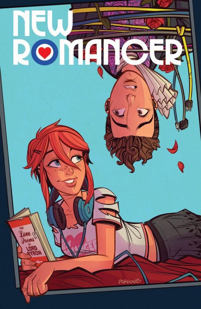 New Romancer - Issue 5 cover art (DC Comics - Vertigo)